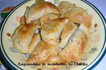 empanaditas de membrillo