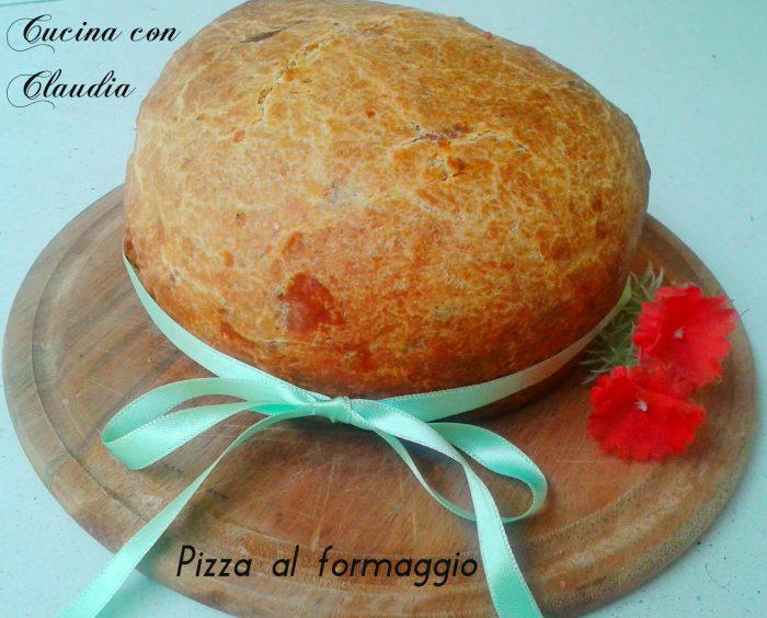 Pizza al formaggio