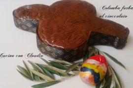 Colomba furba al cioccolato
