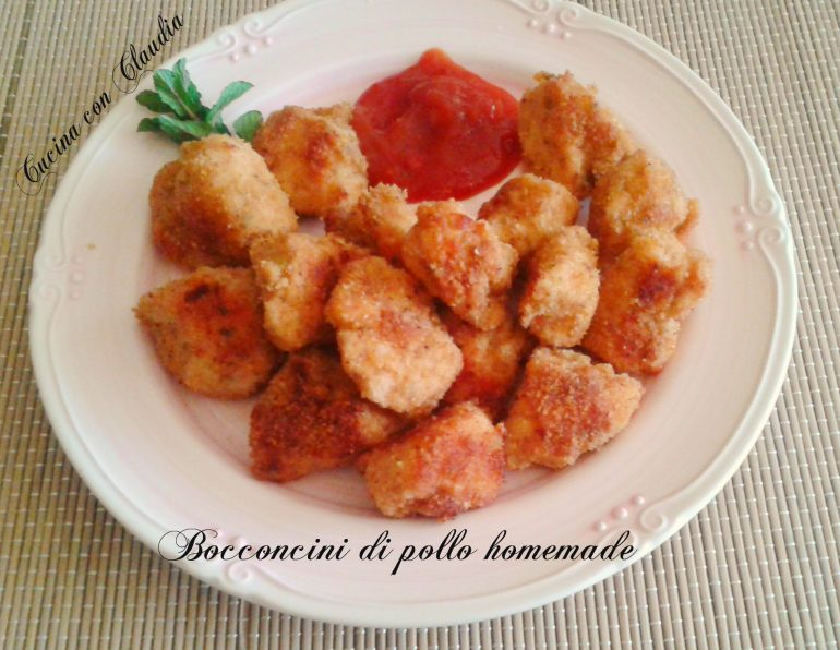 Bocconcini di pollo homemade