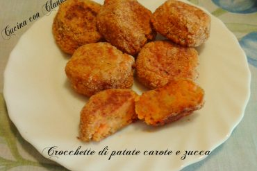 Crocchette di patate carote e zucca