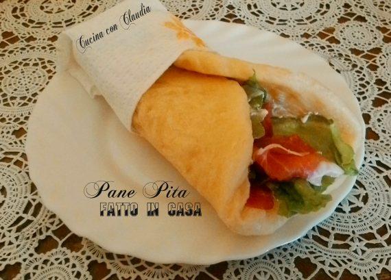 Pane Pita fatto in casa