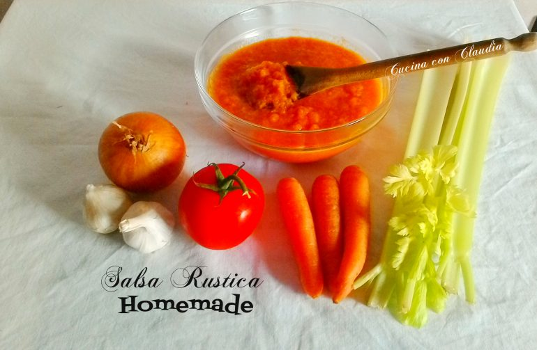 Salsa Rustica Homemade