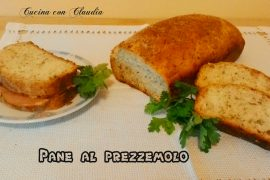Pane al prezzemolo