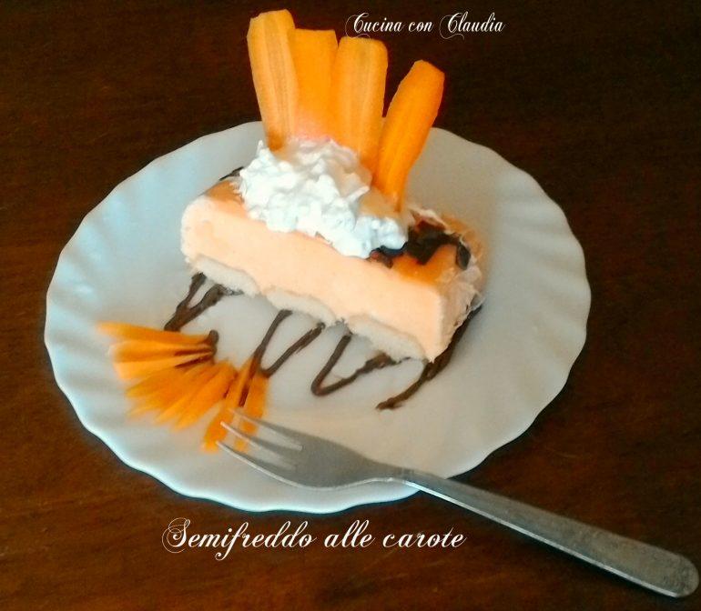 Semifreddo alle carote