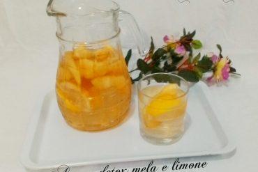 Acqua detox male e limone