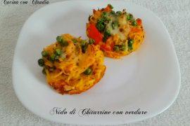 Nido di Chitarrine con verdure