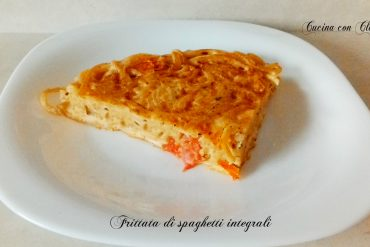 Frittata di spaghetti integrali