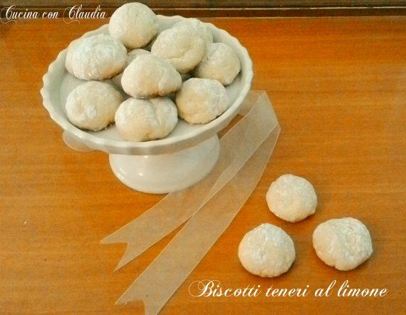 Biscotti teneri al limone