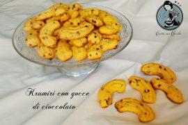Krumiri con gocce di cioccolato