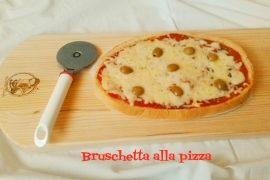 Bruschetta alla pizza