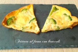 Frittata al forno con broccoli