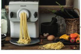 Dimostrazione di Philips Pasta Maker a Macerata