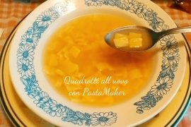 Quadrotti all'uovo con PastaMaker