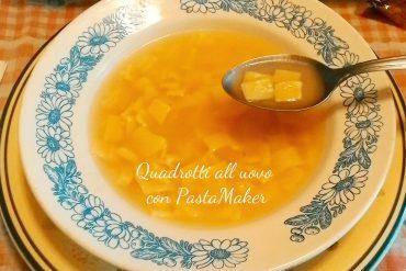 Quadrotti all'uovo con PastaMaker