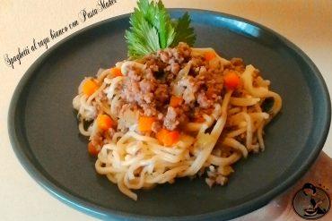 Spaghetti al ragù bianco con PastaMaker