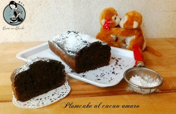 Plumcake al cacao amaro