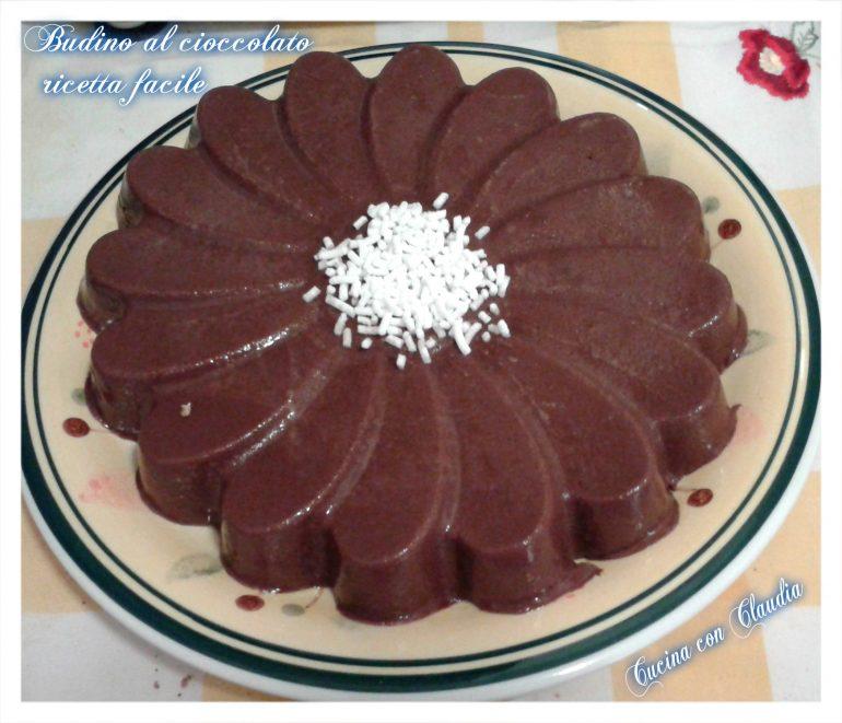 Budino al cioccolato ricetta facile