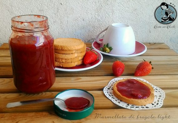 Marmellata di fragole light
