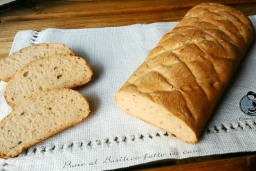 Pane al Basilico fatto in casa
