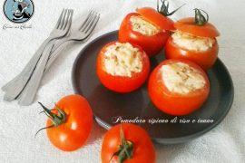 Pomodoro ripieno di riso e tonno