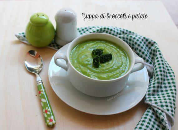 Zuppa di broccoli e patate