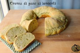 Corona di pane ai broccoli