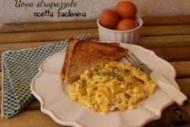 Uova strapazzate ricetta facilissima