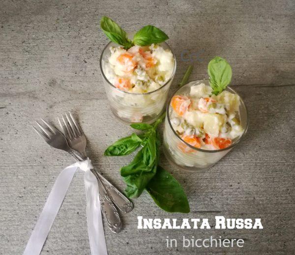 Insalata Russa in bicchiere