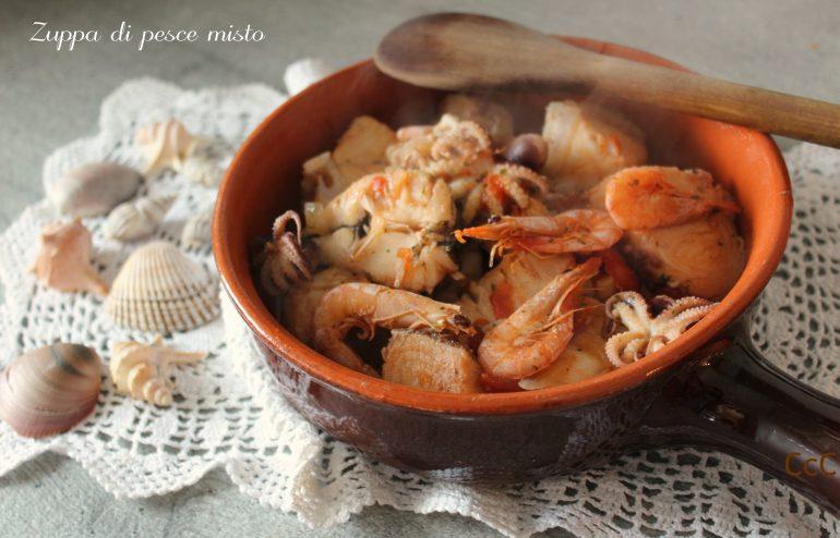 Zuppa Di Pesce Misto Cucina Con Claudia
