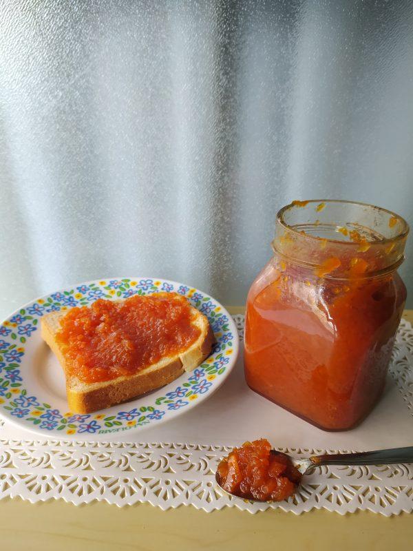 marmellata di carote facilissima