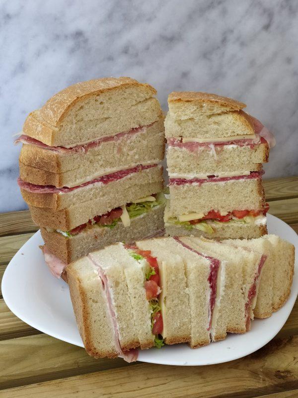 Panettone Gastronomico con Macchina del pane